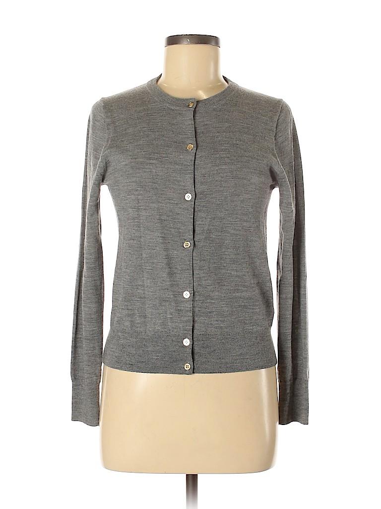 J. Crew Women Wool Cardigan Size M