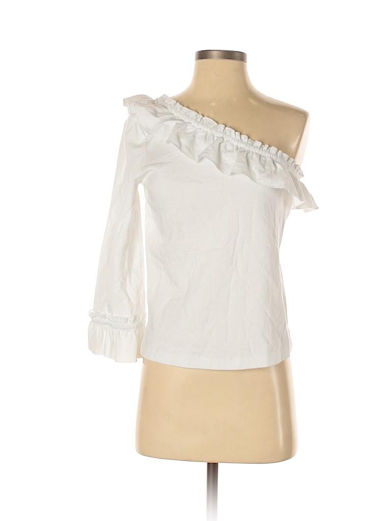 Club Monaco Women 3/4 Sleeve Blouse Size S
