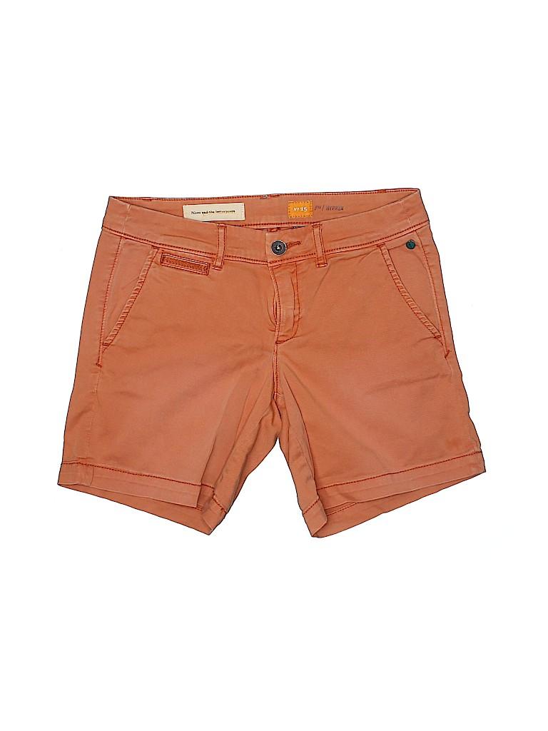 Pilcro and The Letterpress Women Khaki Shorts 25 Waist