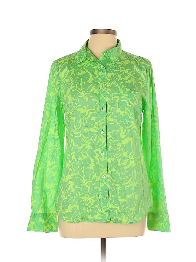 J. Crew Factory Store Women Long Sleeve Button-Down Shirt Size 12