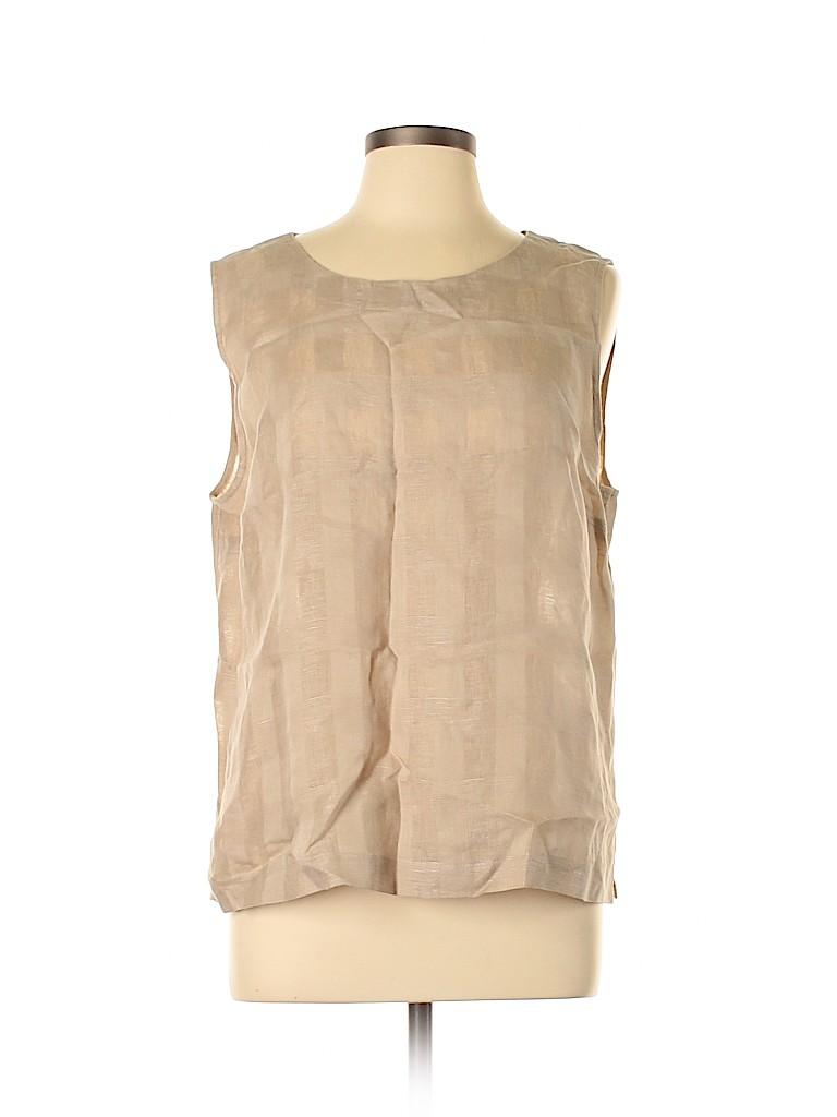 Go By Go Silk Women Sleeveless Top Size XL