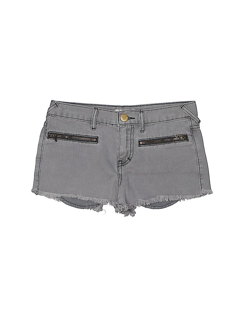 Free People Women Denim Shorts 25 Waist