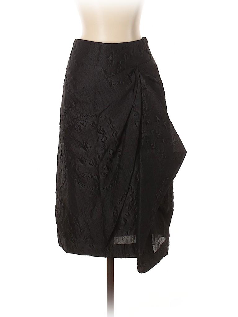 Vera Wang Women Silk Skirt Size 4