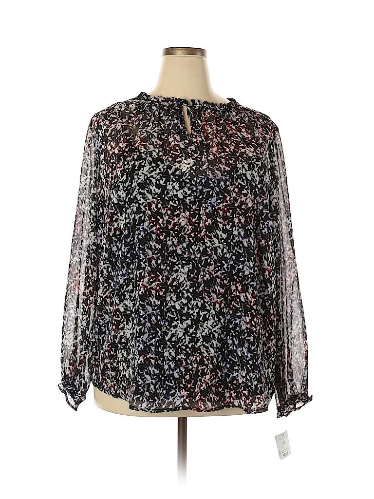 Liz Claiborne Women Long Sleeve Blouse Size 2X (Plus)