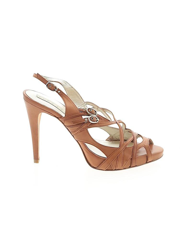 Pura Lopez Women Heels Size 38 (EU)