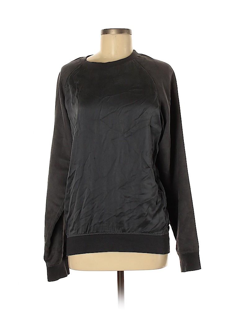 Assorted Brands Women Silk Pullover Sweater Size M