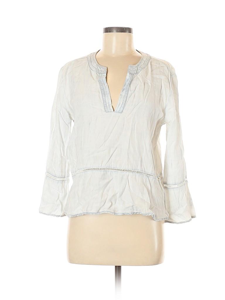 Cloth & Stone Women 3/4 Sleeve Blouse Size M