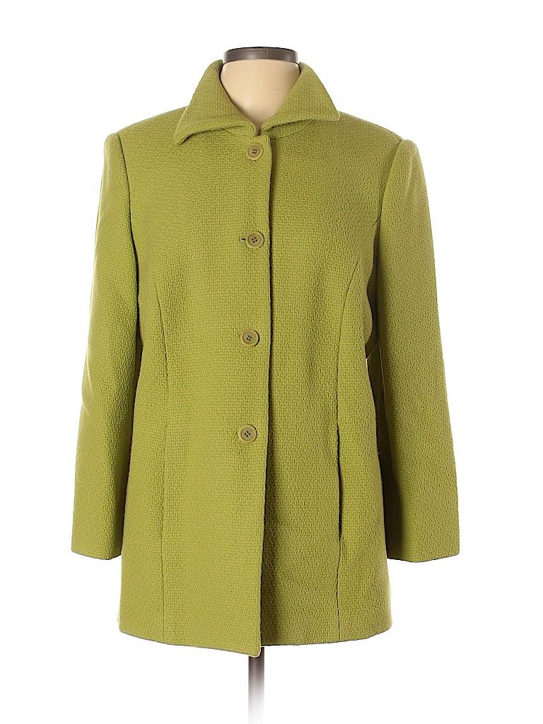 Talbots Women Wool Coat Size 12