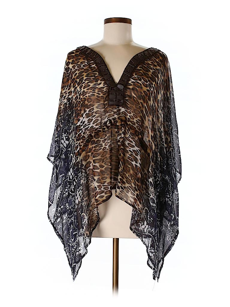 Alberto Makali Women 3/4 Sleeve Blouse Size L