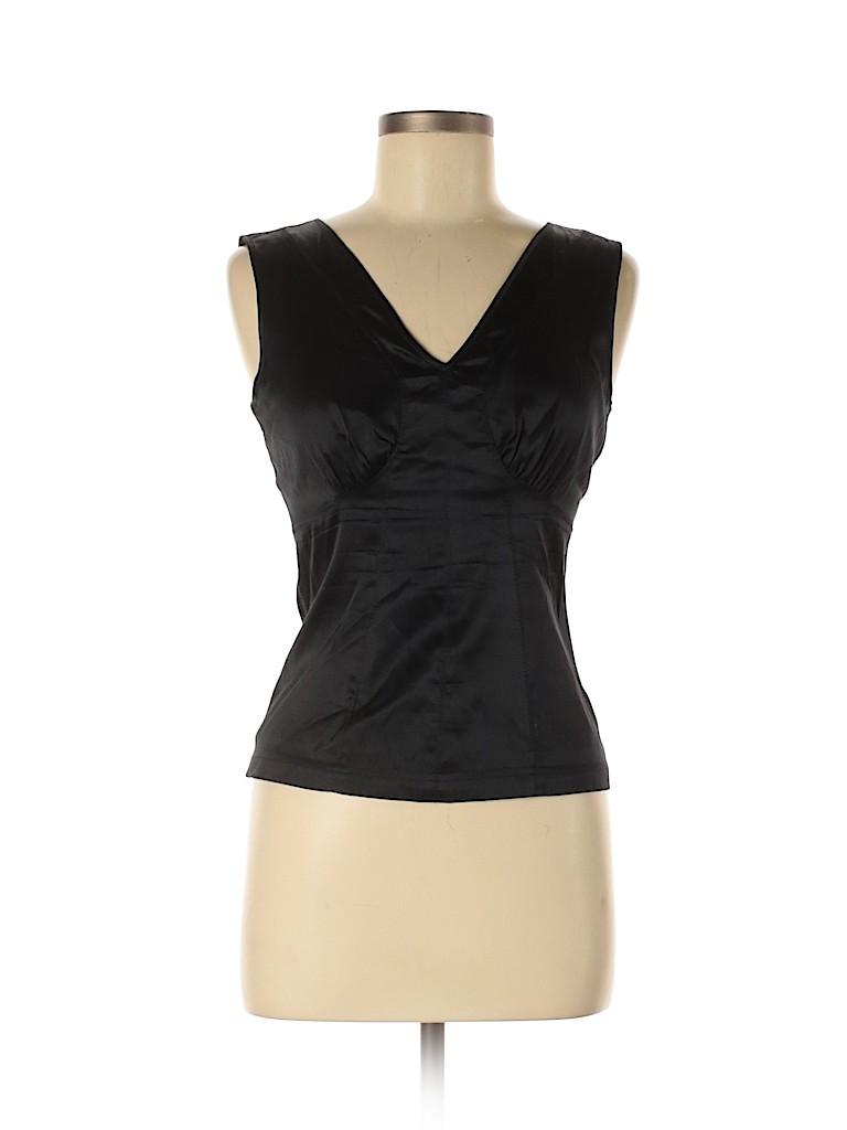 Express Women Sleeveless Silk Top Size 6