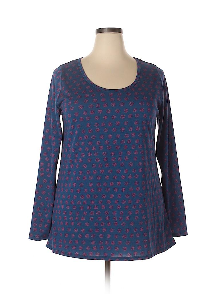Lularoe Women Long Sleeve T-Shirt Size 2X (Plus)