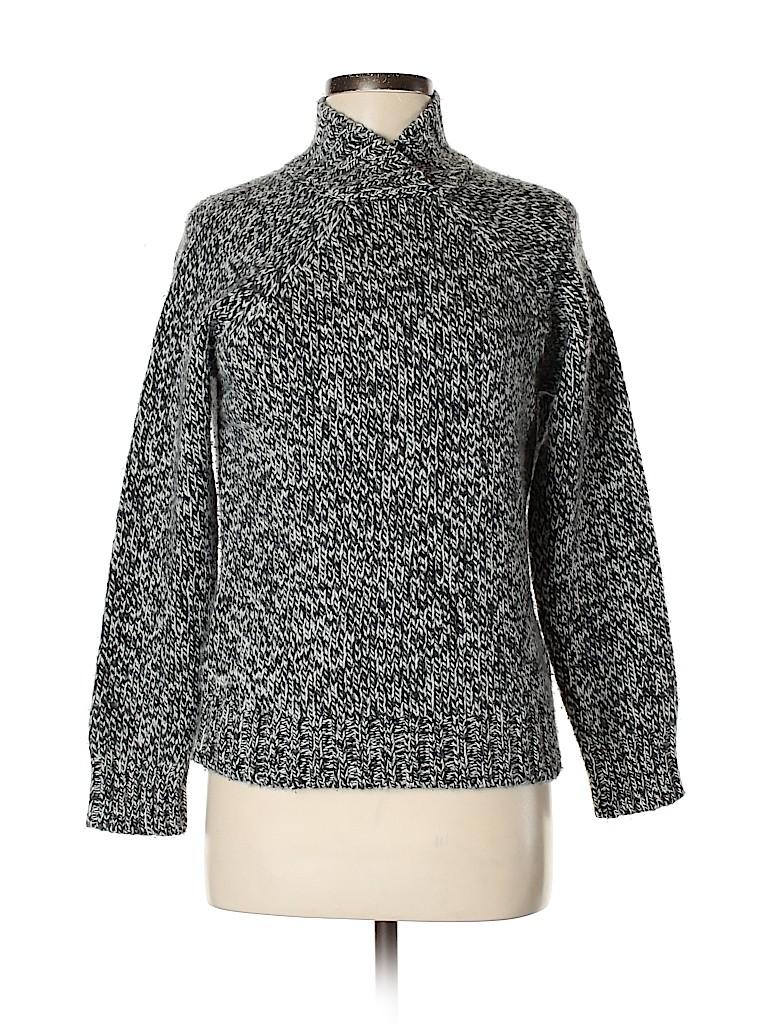 Laura Ashley Women Wool Pullover Sweater Size M
