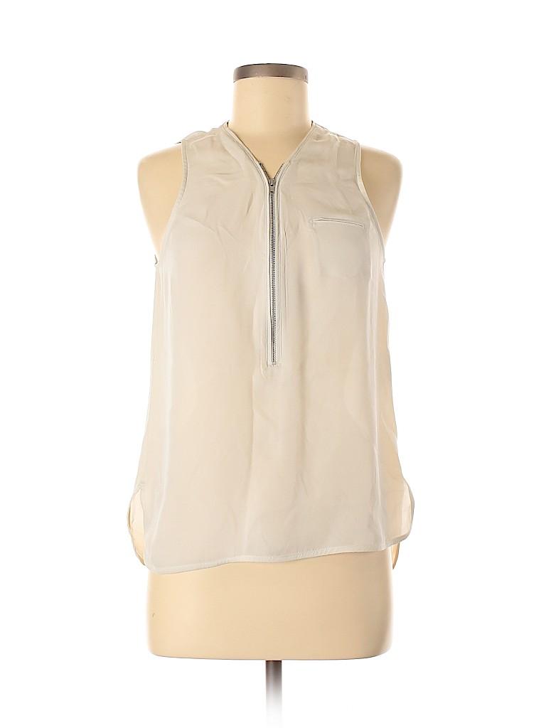 The Kooples Women Sleeveless Silk Top Size M
