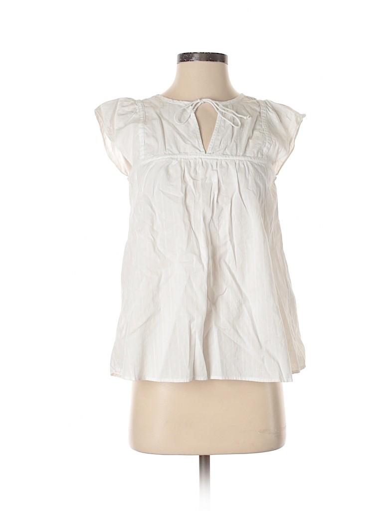 Levi's Women Short Sleeve Blouse Size XS
