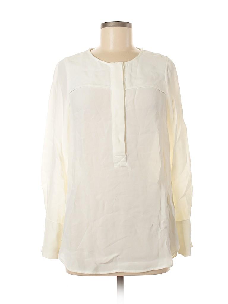 J. Crew Women Long Sleeve Blouse Size 8