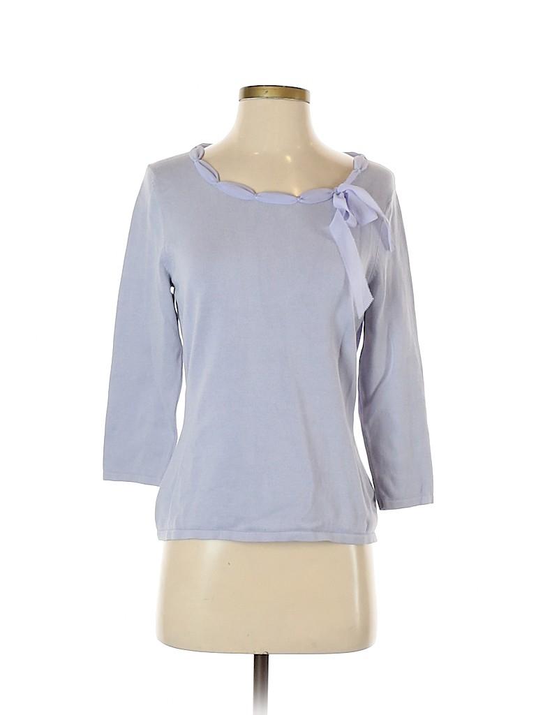Ann Taylor Women 3/4 Sleeve Silk Top Size S