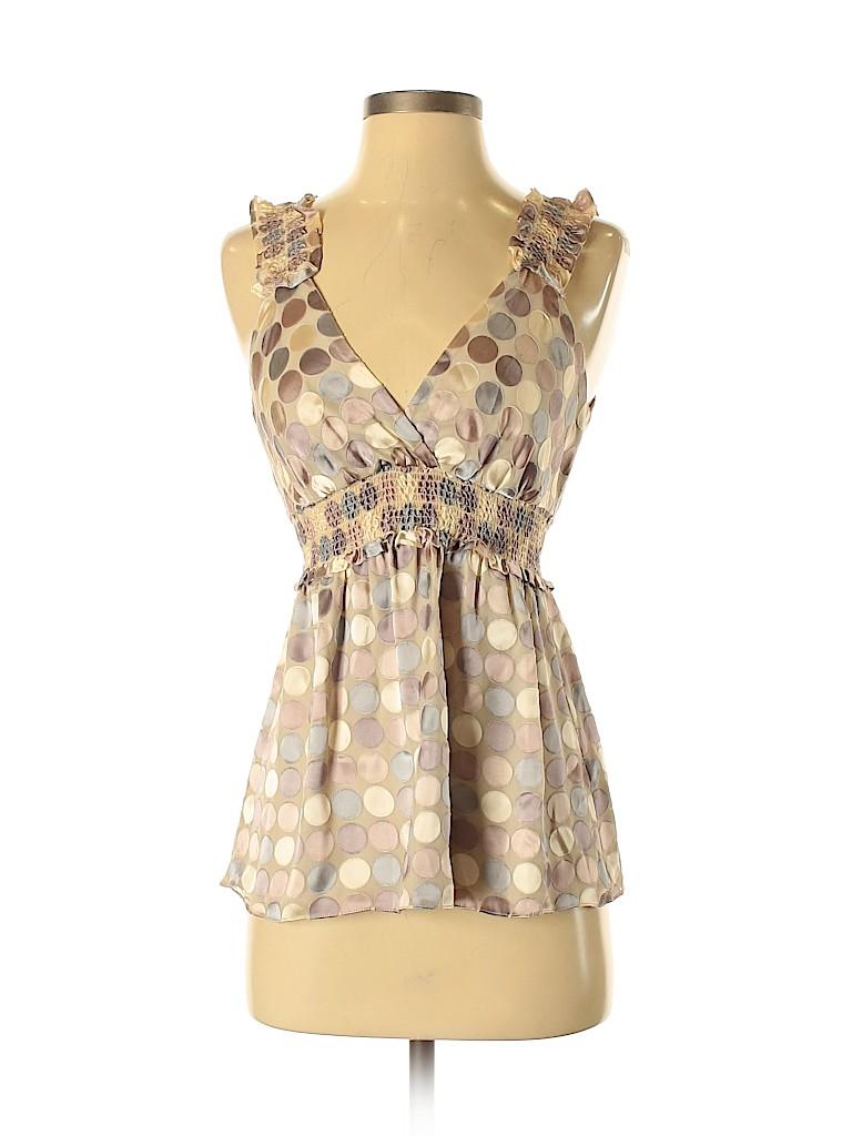 BCBGMAXAZRIA Women Sleeveless Blouse Size XS