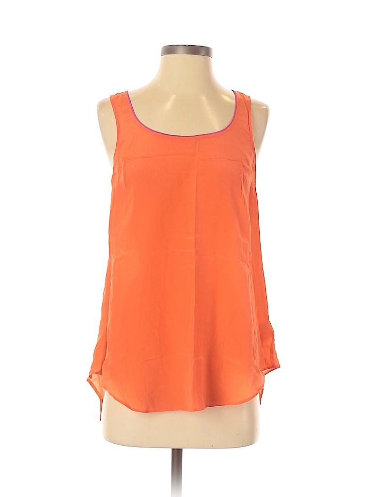 Maeve Women Sleeveless Silk Top Size 0
