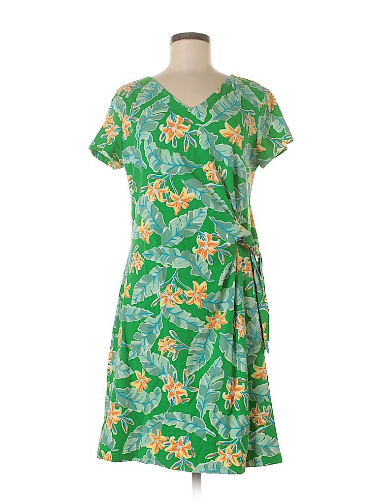 Lands' End Women Casual Dress Size M