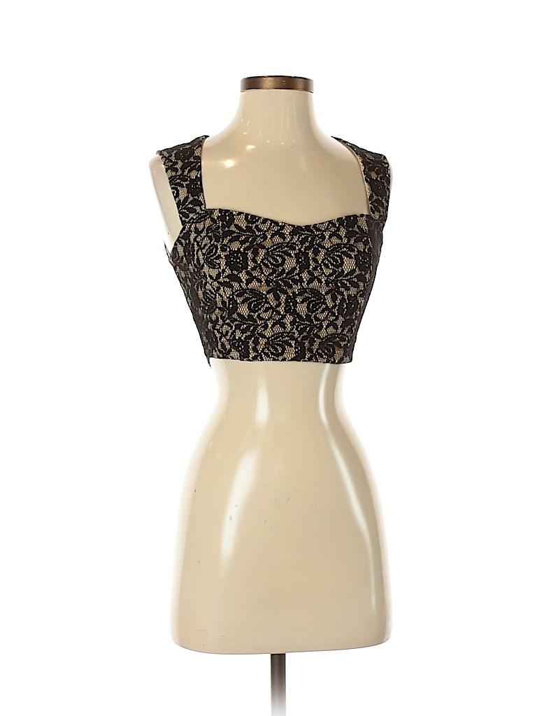 Charlotte Russe Women Sleeveless Blouse Size S