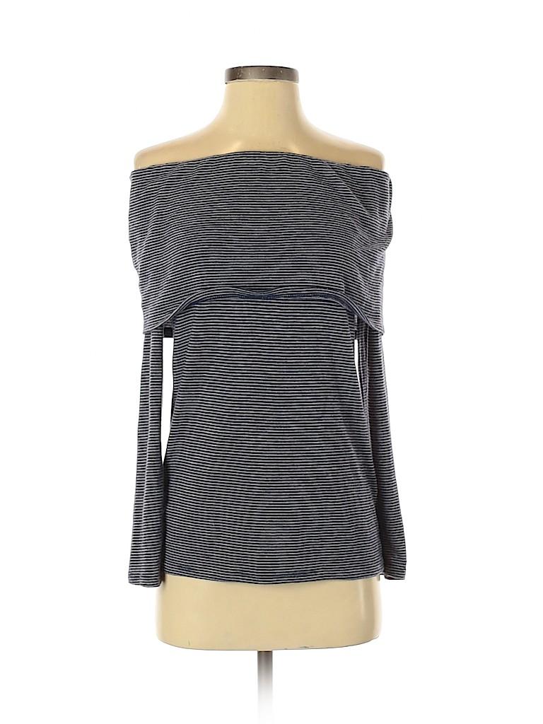 Promesa U.S.A. Women Long Sleeve Top Size S