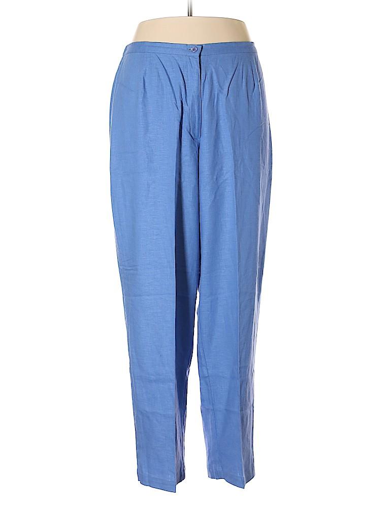 Cherokee Women Linen Pants Size 18 (Plus)