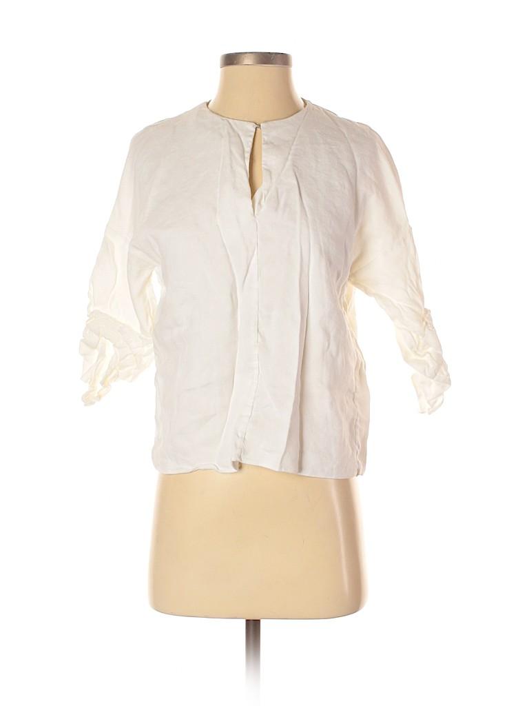 Tibi Women 3/4 Sleeve Blouse Size XXS