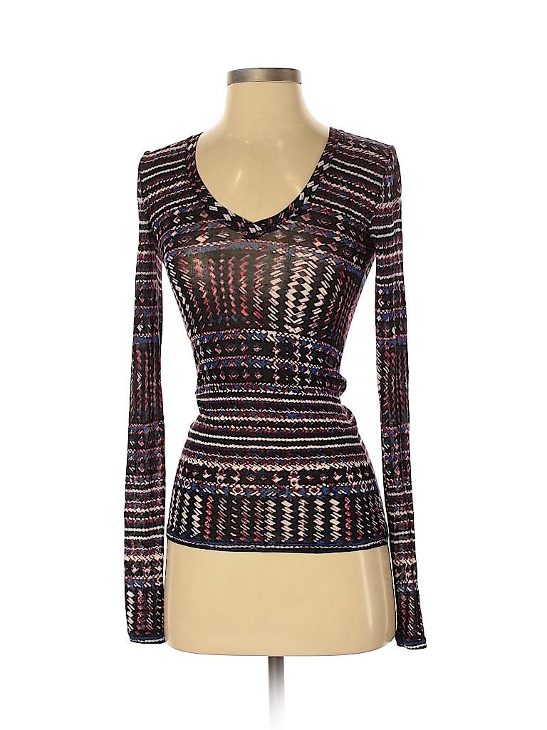 BCBGMAXAZRIA Women Long Sleeve Top Size XXS