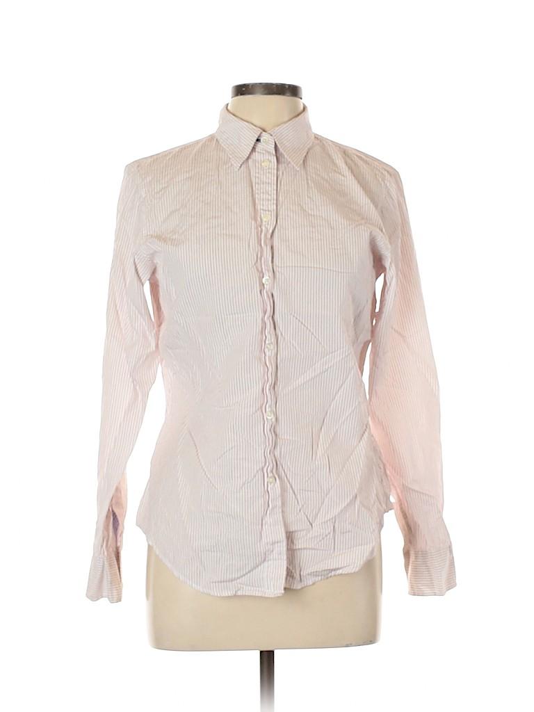 Gap Women Long Sleeve Button-Down Shirt Size 12
