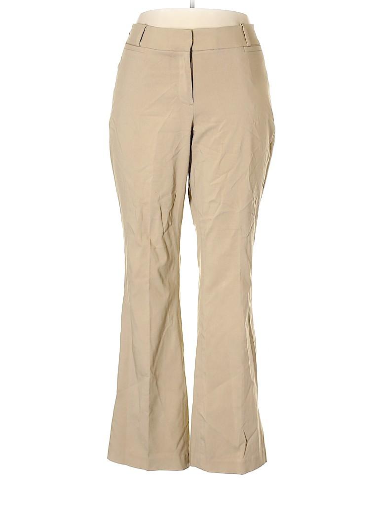 Lane Bryant Women Khakis Size 18 (Plus)