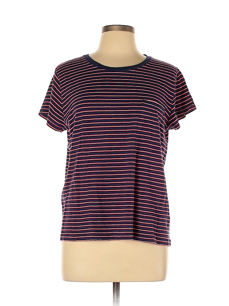 Gant Women Short Sleeve T-Shirt Size XL