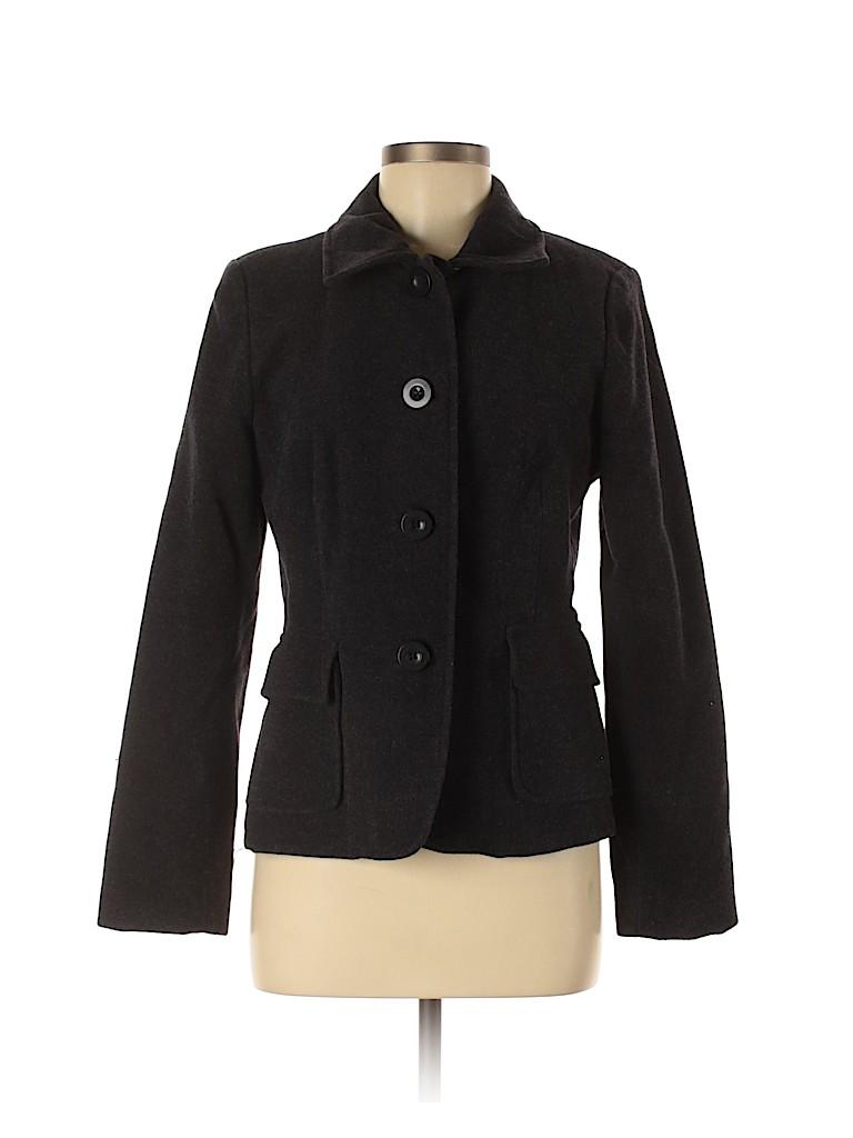 Assorted Brands Women Wool Coat Size 8