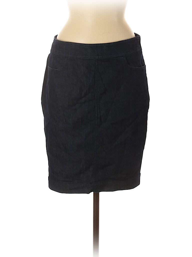 Ann Taylor LOFT Women Denim Skirt Size 6
