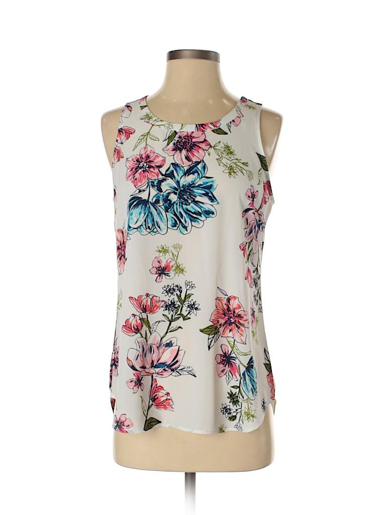 Van Heusen Women Sleeveless Blouse Size S