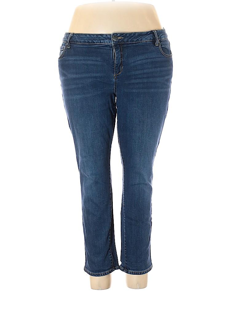 Slinky Brand Women Jeans Size 20 (Plus)