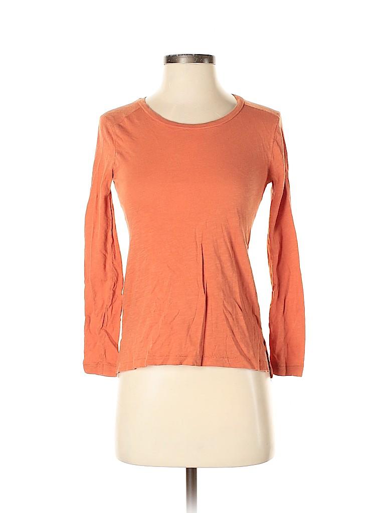 Madewell Women Long Sleeve T-Shirt Size XS