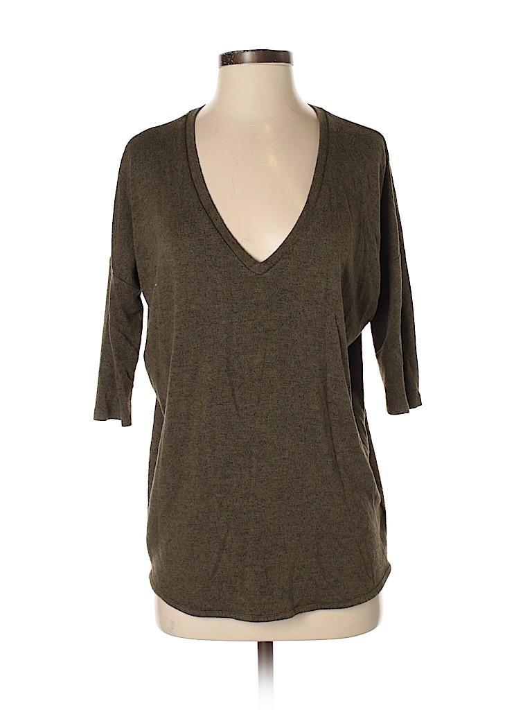 Express Women 3/4 Sleeve Top Size S