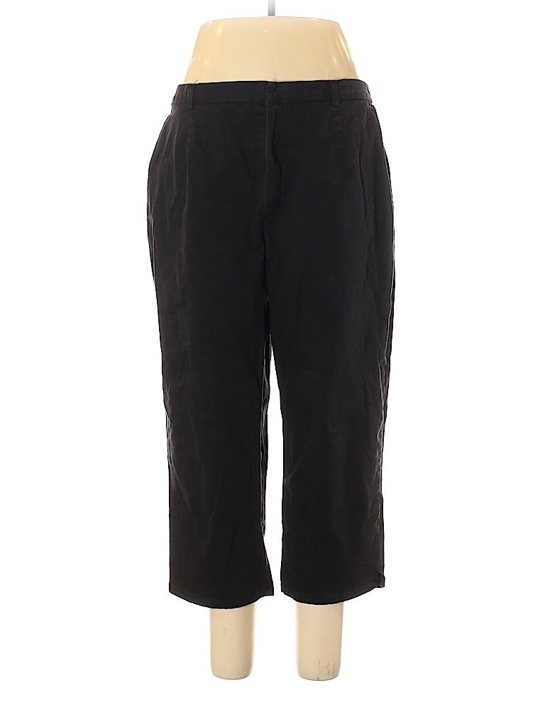Sag Harbor Women Khakis Size 20 (Plus)