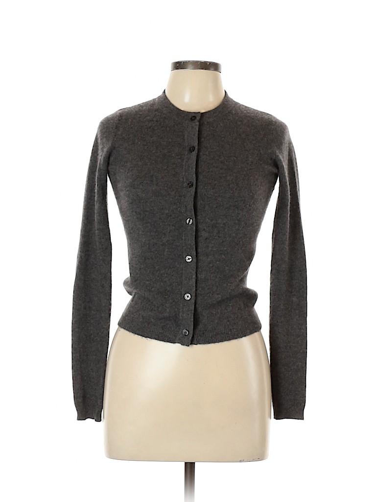 C by Bloomingdales Women Silk Cardigan Size XS