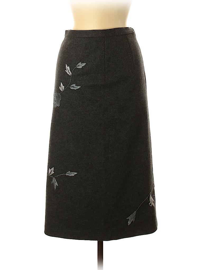 Dolce & Gabbana Women Wool Skirt Size 42 (IT)