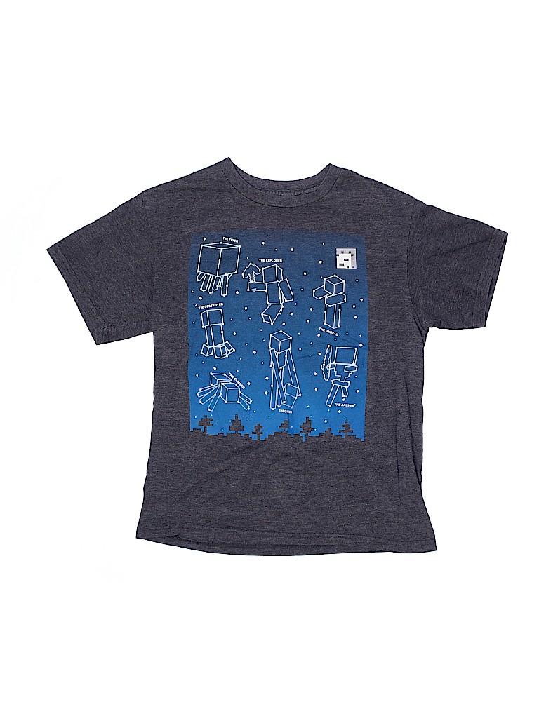 Mojang Boys Short Sleeve T-Shirt Size X-Large (Youth)