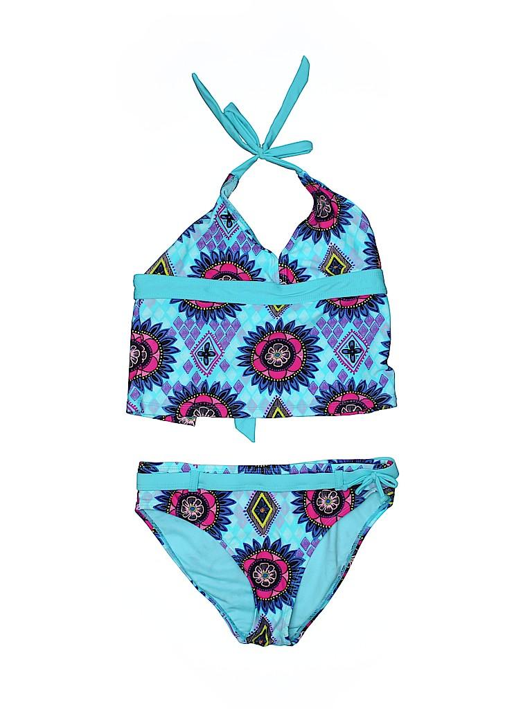 YMI Girls Two Piece Swimsuit Size 10 - 12