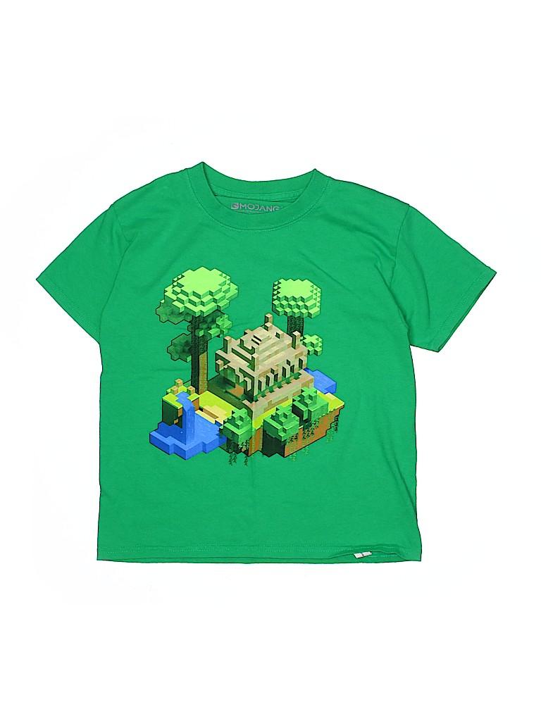 Mojang Boys Short Sleeve T-Shirt Size X-Small (Youth)