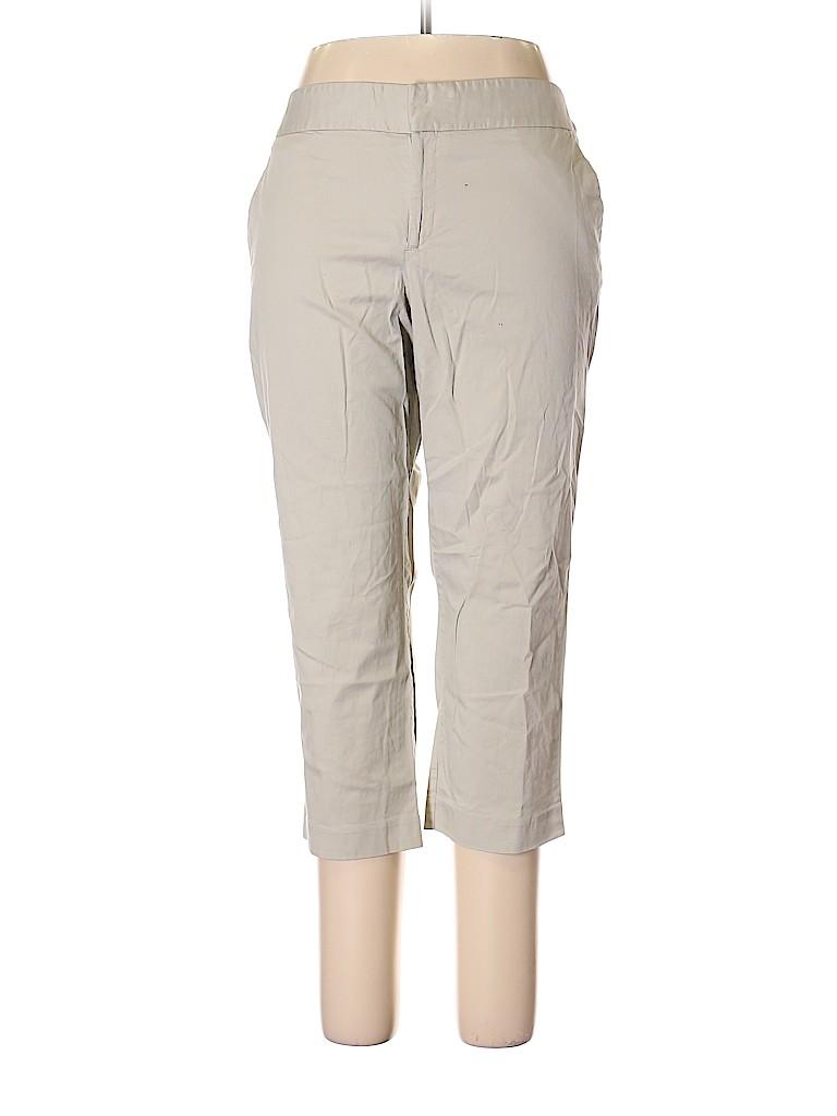 Daisy Fuentes Women Khakis Size 16