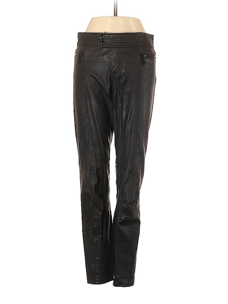 Rachel Zoe Women Leather Pants Size 0