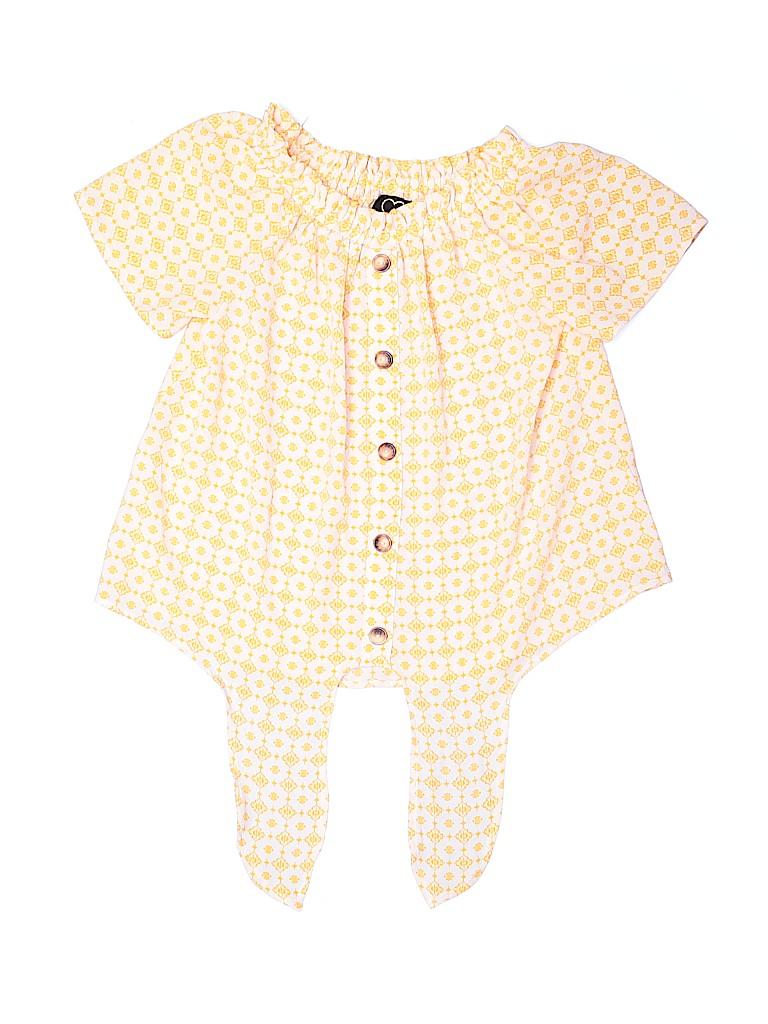 Assorted Brands Girls Short Sleeve Blouse Size 7 - 8