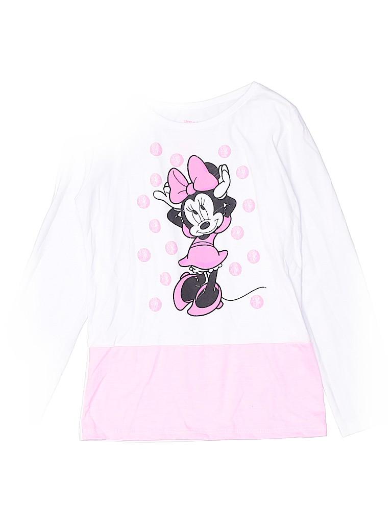 Disney Girls Long Sleeve T-Shirt Size 5