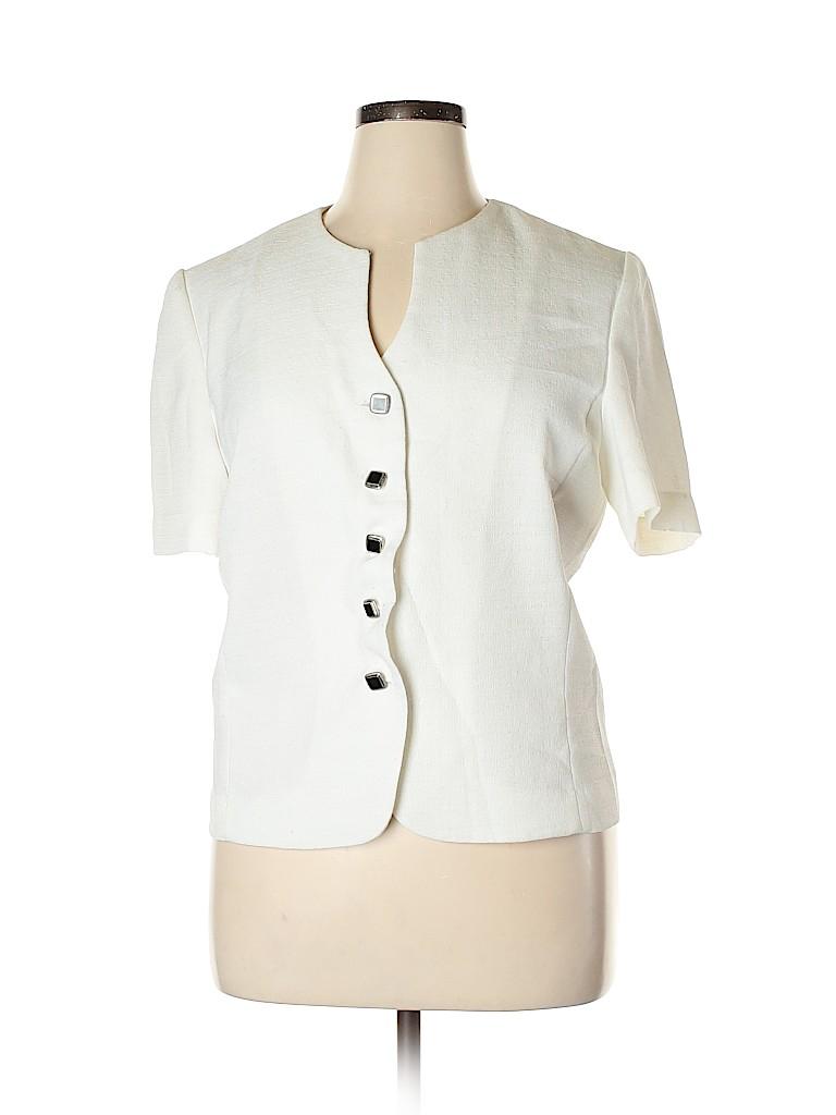 Leslie Fay Women Jacket Size 16