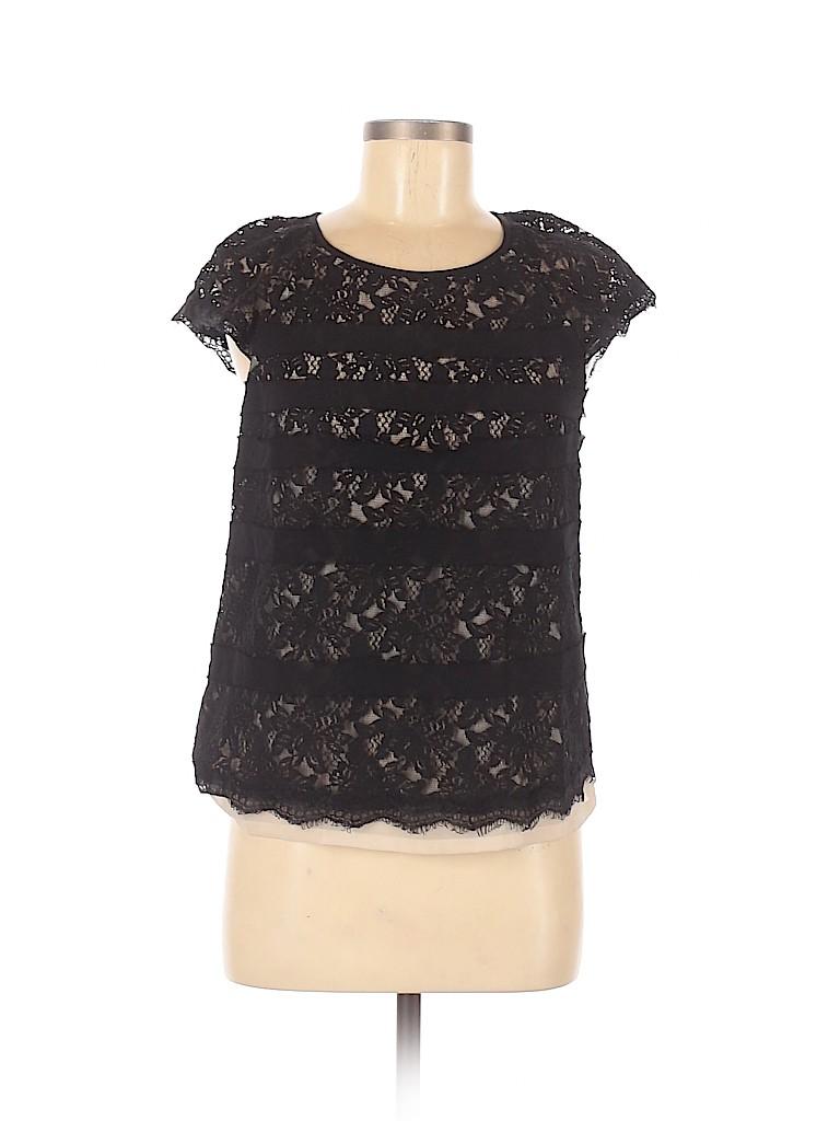 Mcginn Women Short Sleeve Blouse Size M