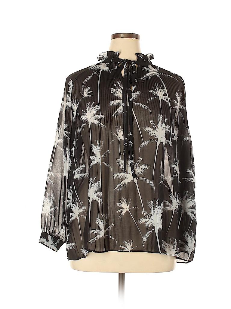 Carmakoma Women Long Sleeve Blouse Size 16 Plus (S) (Plus)